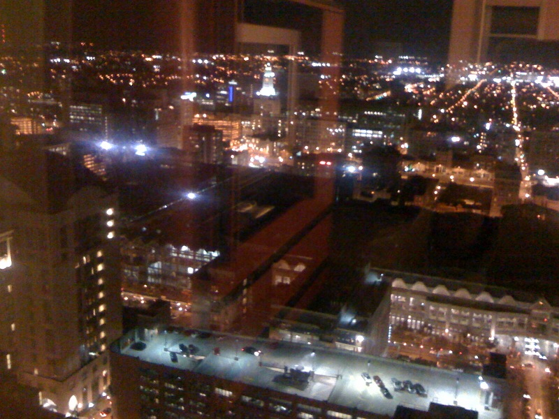 Phila at night