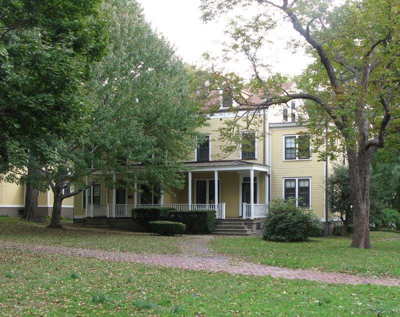 Gov Island house