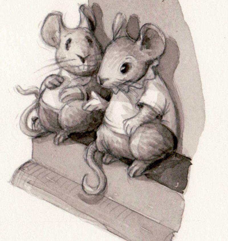 Mice copy