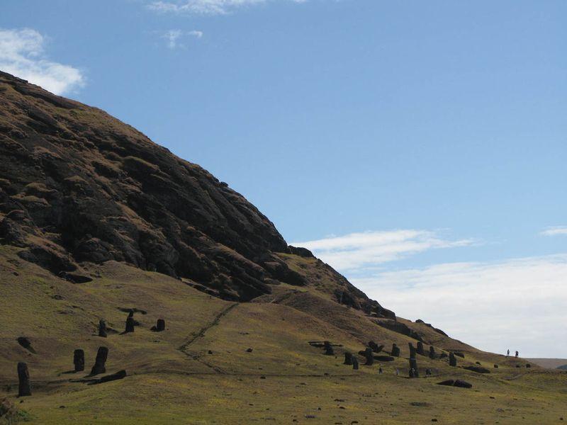Quarry hillside