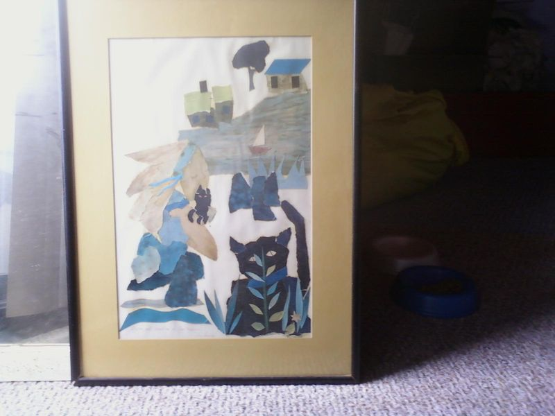 Collage kris and cat